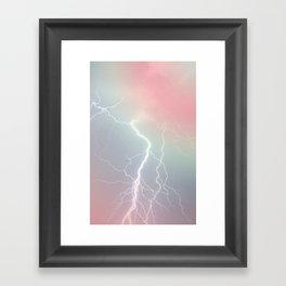 Lightning  Framed Art Print