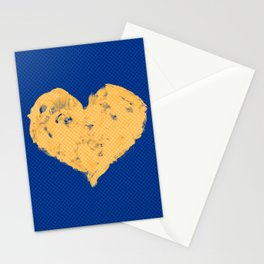 Feel in Watercolour: Navy/Gold Stationery Cards