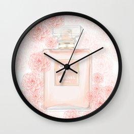 Fleur d' Coco Wall Clock