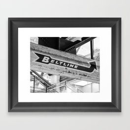 Atlanta Beltline Framed Art Print