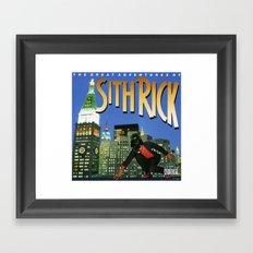 Sith Rick Framed Art Print