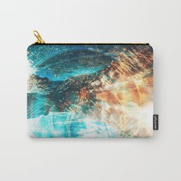 Shining Spirals Carry-All Pouch