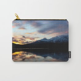 Dreamy Jasper Sunset Carry-All Pouch