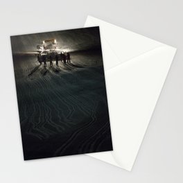 Epic cat light at Nine Knights 2014 Stationery Cards