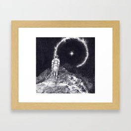 Astral Soldier Framed Art Print