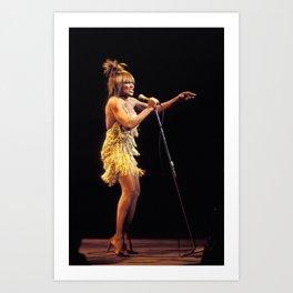 Ⓢ.в.乇.⑦⑧ Ⓜⓘⓛⓛⓨ - Tina Anna Mae Bullock Turner - Society6 Online Pop Icon - Shop Music Photography 22 Art Print