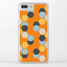 Sam (Orange) Clear iPhone Case