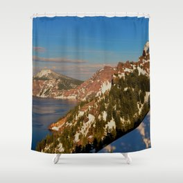 Crater Lake - Spring II Shower Curtain