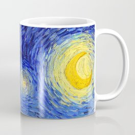 "Vincent Van Gogh "" Starry Night "" , Partial expansion Coffee Mug"