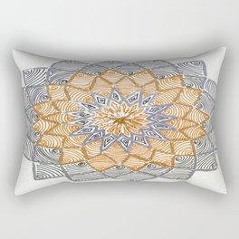 Rangoli 3 Rectangular Pillow