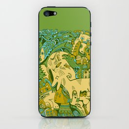 Green Town iPhone Skin