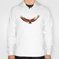 eagle Hoodies featuring Eagle by ron ashkenazi