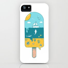 Melted Landscape iPhone Case