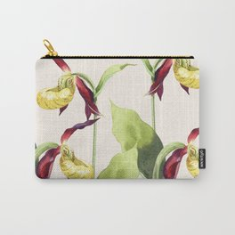 Lady's-slipper orchid Carry-All Pouch