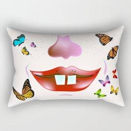 """""""Smiley"""" Rectangular Pillow"""