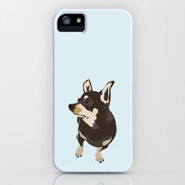 Hopeful Dog iPhone Case