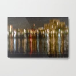 Let The Music Play On Metal Print