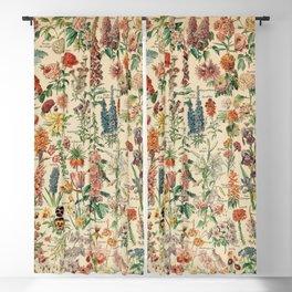 Adolphe millot 1800s fleur E Blackout Curtain