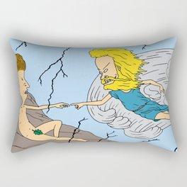 Beavis and Butthead GOD Rectangular Pillow