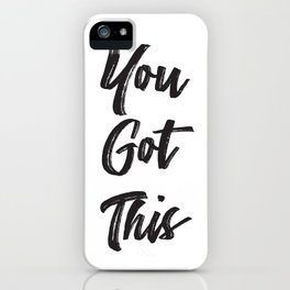 Never Doubt Yourself iPhone Case