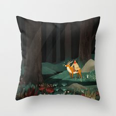 Princess Mononoke tribute Throw Pillow