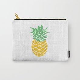 Pineapple Exotic Summer Fruit Gift Mmmmmh Tasty Carry-All Pouch