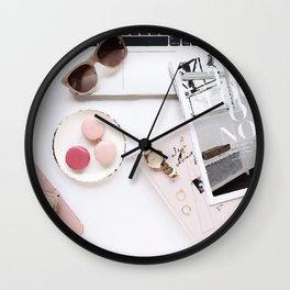 Flat lay Wall Clock