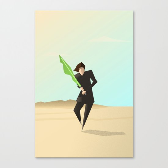 Luke Canvas Print