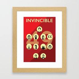 Arsenal Invincibles Framed Art Print