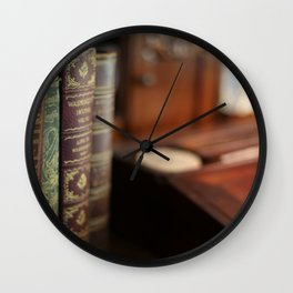 The Writing Desk 2 Wall Clock