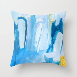 Color Study No. 10 Throw Pillow