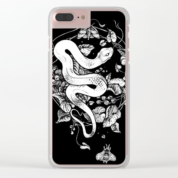 The End Of The Summer Clear iPhone Case