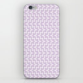 Sea Urchin - Light Purple & White #922 iPhone Skin