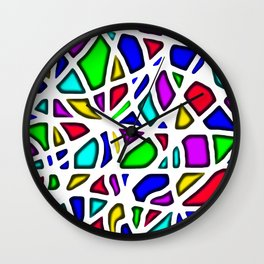 color face Wall Clock