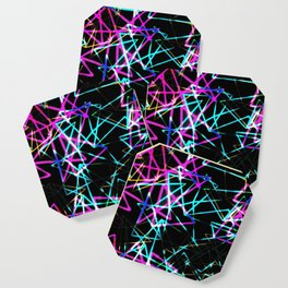 Neon lights Coaster