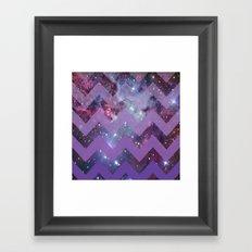 Infinite Purple Framed Art Print