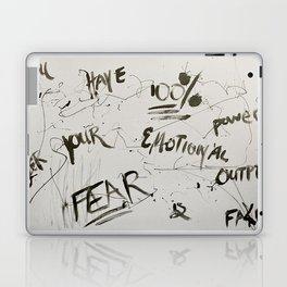 Fear is Fake Laptop & iPad Skin