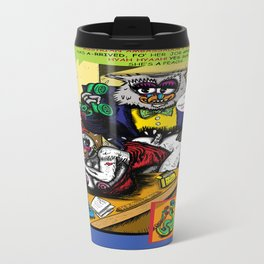 Bird of Steel Comix - Page #5 of 8 (Society 6 POP-ART COLLECTION SERIES)  Travel Mug