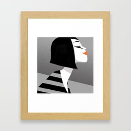 LIPSTICK Framed Art Print