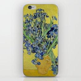 "Vincent Van Gogh ""Still Life with Irises"" iPhone Skin"