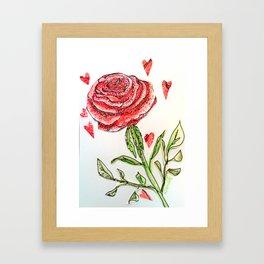 Every Rose Framed Art Print