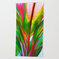 Ti Leaf Series #4 Beach Towel