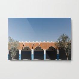Sahara Berber Art Metal Print