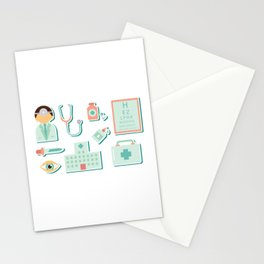 Doctor Checkup Stationery Cards