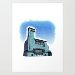 ODEON Leicester Square - Watercolour Art Print