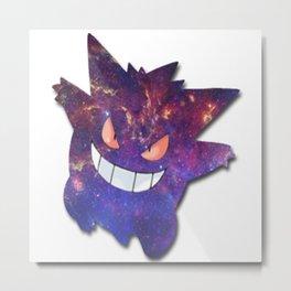 Galaxy Gengar Metal Print