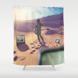 Where is home? Shower Curtain