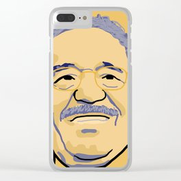 Gabriel Garcia Marquez Clear iPhone Case