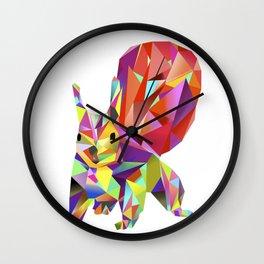 """Squirrel """"Elli Eichhorn"""" Wall Clock"""