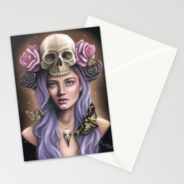 Death's Head Stationery Cards